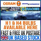OSRAM NIGHT RACER PLUS, X-RACER MOTORCYCLE BULBS H4 H7