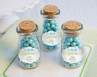 48 My Little Man Personalized Milk Jar Baby Shower Party Favors
