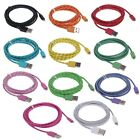 1/2/3M 8Pin USB Data Sync Charger Cable Cord fr iPhone 5 5S 5C iPod Touch5 Nano7