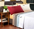 Big Sale 800TC Very Super Soft 2Pc Pillow Case Solid 100% Egyptian Cotton Gift
