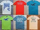 Hollister HCo Men Graphic T-Shirt Tee Tank Top Muscle Slim Fit S/S Abercrombie