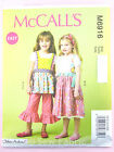 McCall's 6916 Sewing Pattern Girls' Top, Dress, Pinafore & Trousers Easy Age 2-8