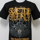 SUICIDE SILENCE The Black Crown T-Shirt 100% Cotton New Size S M L XL 2XL 3XL