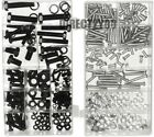 180pc 220pc 246pc Nuts Bolts Washers Metric Assort Set M3 M4 M5 M6 M8 M10