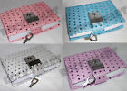 Sequin Sparkle Diary - Teen Locking Journal Lock & Key (4) Color Schemes RM1324
