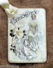 Hang Tags  VICTORIAN BRIDE WEDDING TAGS or MAGNET #673  Gift Tags