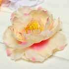 "1 6 10X4"" Artificial Silk Peony Flower Head Corsage Wedding Home Hair Decoration"