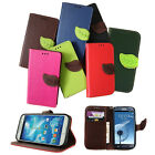 For SAMSUNG Galaxy S4 IV Soft Leather Case Flip Cover Skin Wallet Stand Diary