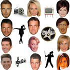 Star Celebrity Face Masks Hen & Stag Party Fancy Dress Fun Partywear Famous Mask