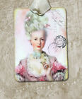 Hang Tags  FRENCH PARIS PINK MARIE ANTOINETTE TAGS or MAGNET #582  Gift Tags