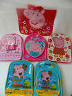 PEPPA PIG / GEORGE - Kids / Children's Backpack, Rucksack, Book Bag