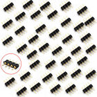 100Pcs 4Pin Male Plug Adapter Connector for RGB 35285050 LED Strip Light Connect