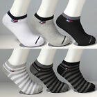 8 Pairs Men's Sport Crew Ankle Low Cut Casual Cotton New Socks Size 7-11