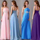 One Shoulder Sleeveless Banquet Evening Party Maxi Long Dresses Formal Prom Gown