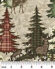 Kyпить Alpine Forest Fabric Tree Woods Winter Pine - Available in 2 Patterns & Colors на еВаy.соm