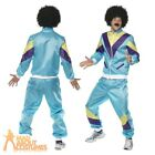 80's Height of Fashion Costume Liverpool Scouser Shell Suit Mens Fancy Dress