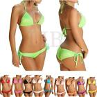 Sexy Girl Women Padded push up Bandeau Bra Swimwear Beach Swimsuit Bikini Sets