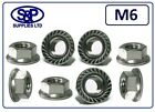 M6 - 6MM STAINLESS STEEL HEXAGON FLANGE NUT GRADE 304 A2 SERRATED FLANGE NUT