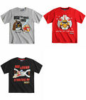 Boys Angry Birds T Shirt Kids Star Wars Top  Short Sleeve New Age 3-12 Years