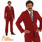 Anchorman Costume 70s Newsreader Fancy Dress Outfit Ron Burgandy Stag Party