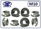 M10 - 10MM STAINLESS STEEL HEXAGON FLANGE NUT GRADE 304 A2 SERRATED FLANGE NUT