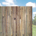 Bamboo Fence Screen Divider 4m Length Fencing Garden Fences Wooden Border Wood