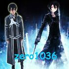 2014 Sword Art Online Kazuto Kirigaya (Kirito ) Cosplay Costume-New arrivals