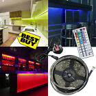 5M 5050 Full Kit RGB LED Strip Light Lights with 44Key Remote + Power Supply UK