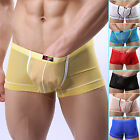 New Sexy Underwear Boxers Briefs Mens Male Soft Shorts Trunks Sheer Underpants