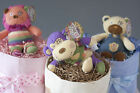 Baby Shower Nappy Cake Complete Centre Piece Package 1 tier cake + 6 Cupcakes