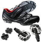 Shimano SPD Cycling Bicycle XC30 Mountain Bike Shoes + Pedals & Cleats