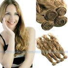 "New 100% Remy Brazilian Natural Wave Human Hair Extension Weft 50g 16""18""20"" #13"
