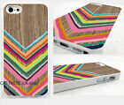 chevron case Cover iPhone 4 4s 5 5s 5C/geometric/pastel/aztec/no real wood
