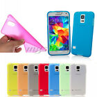 Matte Frosted Ultra Thin TPU Gel Hard Back Case Cover For LG G2 Nexus 5 S5 Note3