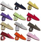 NEW Flossy Style Original Genuine Plimsoll Flat Shoes Pumps UK Size 2.5-11