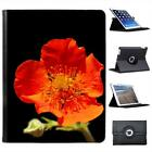 Blossoming Red Poppy Folio Wallet Leather Case For iPad 2, 3 & 4