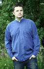 Traditional Civilian  Grandfather Style  Collarless  Shirt from Ireland