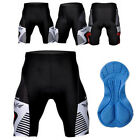 New Men's MTP Cycling Shorts 3D Padded Biking Bicycle Short Pants Tights Black