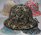 New State Property Premium Paisley Bucket Summer Hat in 5 Colours