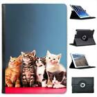 Kittens Cat Folio Wallet Leather Case For iPad Air & Air 2