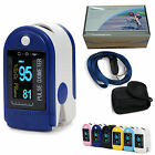 CMS50D Fingertip Pulse Oximeter, SPO2 Monitor, Blood Oxygen Saturation 6 Colors