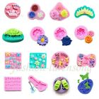 Mixed Shapes Silicone Mould Cake Candy Sugarcraft Fondant Decorating Jelly Tool
