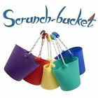 CHILDS SCRUNCH BUCKET - CHOOSE A COLOUR - HOLIDAY OR GARDEN ROLL IT OR FOLD IT