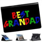Best Granddad Fathers Day Birthday Gift Folio Leather Case For iPad Mini