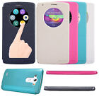Nillkin Sparkle PU Leather Flip Case Quick Window S-View Sleep Cover For LG G3