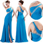 2014 NEW SALE~ Sexy Long Formal Wedding Gown Evening Bridesmaid Party Prom Dress