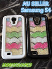 Samsung Galaxy S4 Moving Crystal Bling Water Wave Protective Back Case Cover
