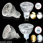 8/12/20x GU10 MR16 4W 6W LED Spot Light Bulbs High Power Warm Day White Lamp UK