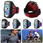 SPORT RUNNING GYM BLACK ARMBAND ARM BAND STRAP CASE COVER FOR iPHONE 4 4S 5 5S