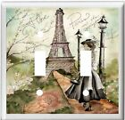 EIFFEL TOWER PARIS FASHION HOME DECOR SWITCH OR OUTLET COVER V662